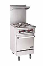 Gas Table Range 4 Burner With Oven