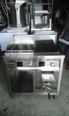 Gas Combinasi Griddle And Fry Top
